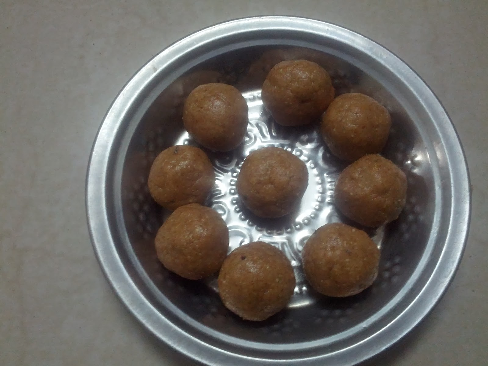 Groundnut (Peanut) Laddu