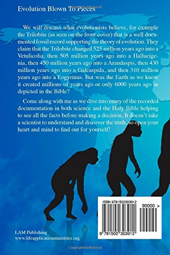 Evolution Blown to Pieces: Pictures in Color Edition Paperback – September 11, 2014