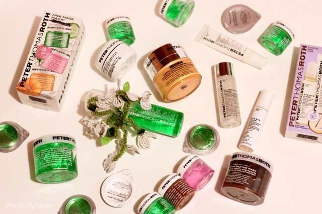 Peter Thomas Roth and June Jacobs skincare haul
