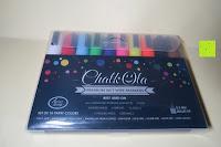 Verpackung: Kreidemarker – 10er Pack neonfarbene Markerstifte. Für Whiteboard, Kreidetafel, Fenster, Tafel, Bistros – 6mm Kugelspitze mit 8 Gramm Tinte
