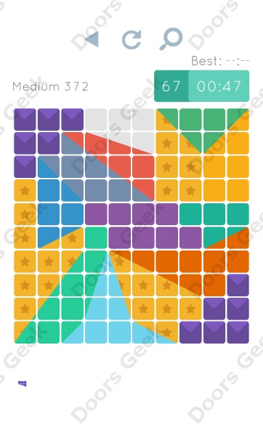 Cheats, Walkthrough for Blocks and Shapes Medium Level 372