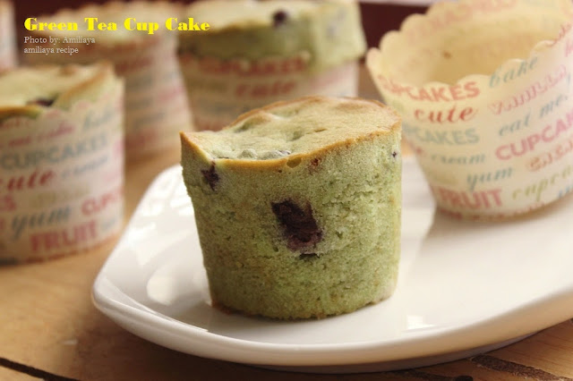 绿茶杯子蛋糕