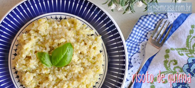 risoto quinoa