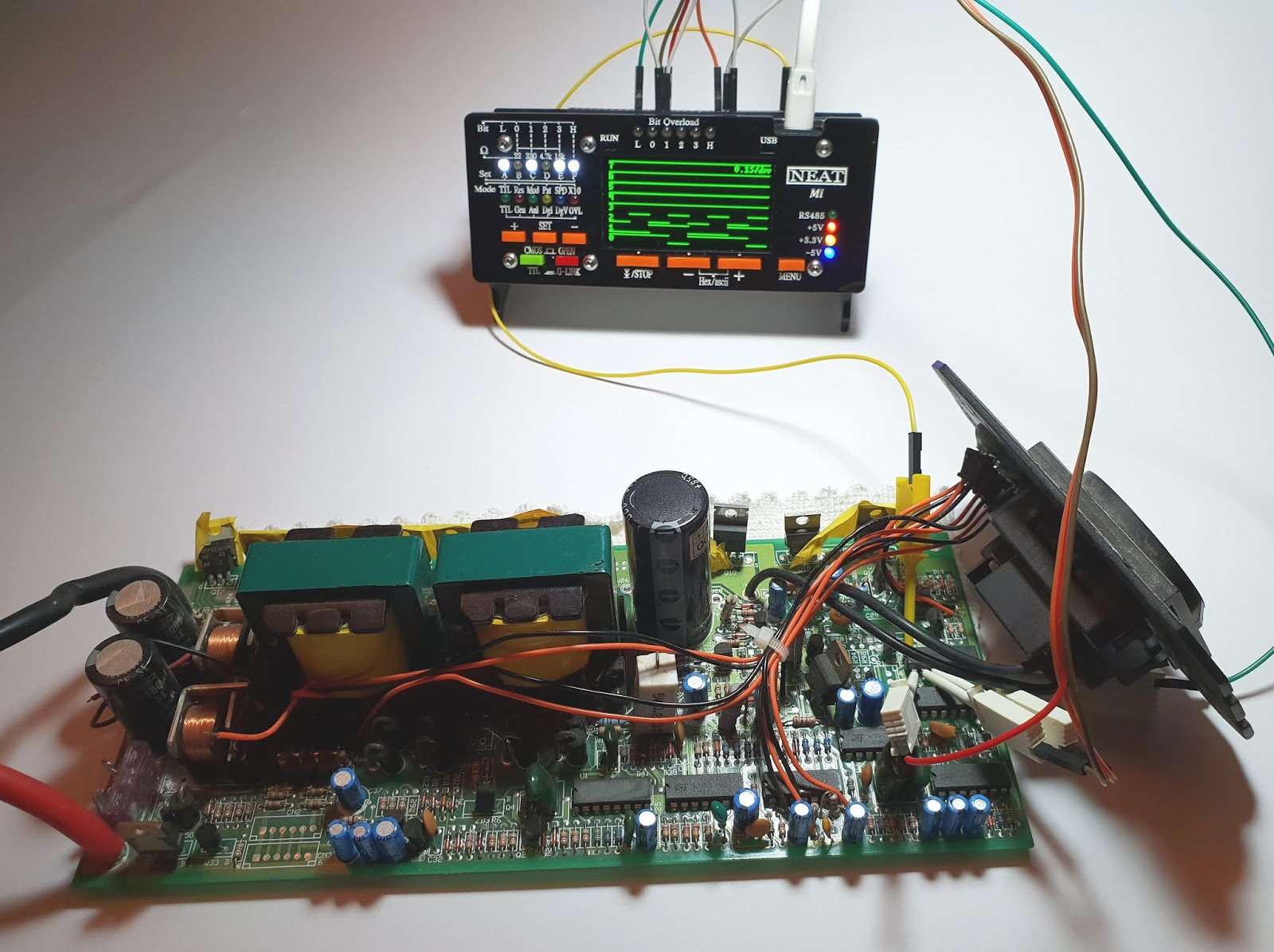 Multiplexer With Ttl Ic 74251