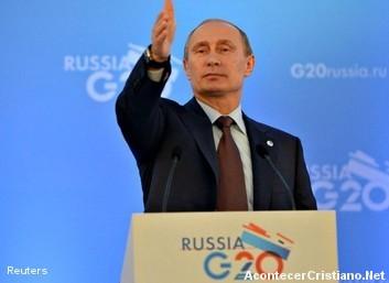 Vladímir Putin ayuda a Siria
