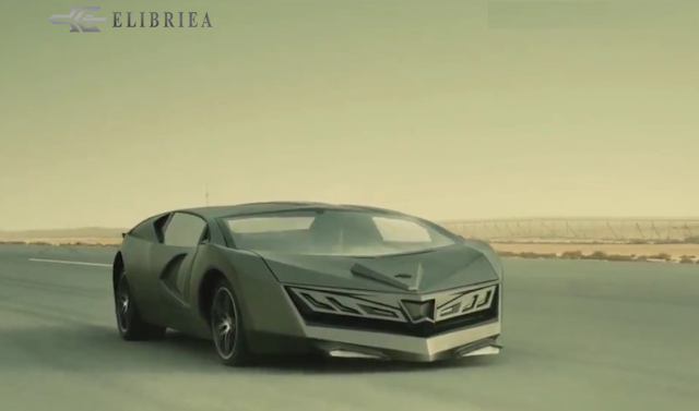 Elibriea Super Car du Qatar