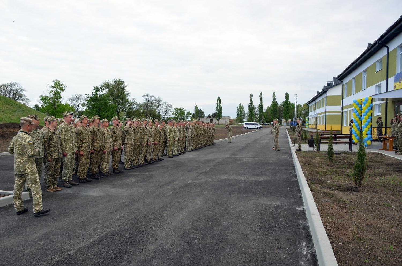 Нові гуртожитки для 250 контрактників на Січеславщині