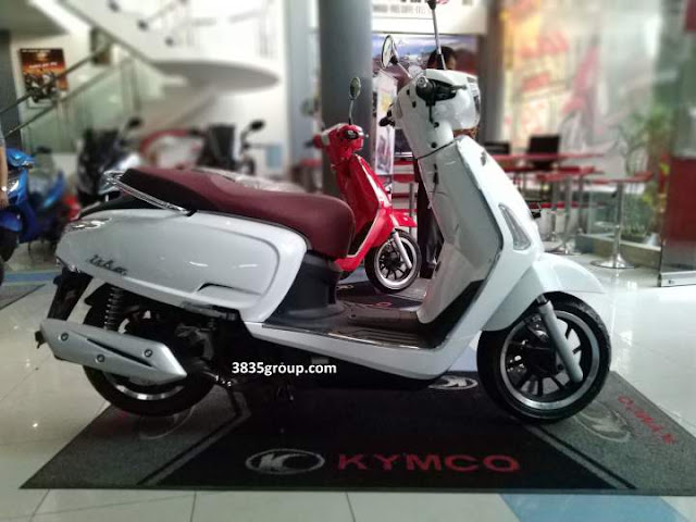 Kymco Like 150i ABS Indonesia Pearly White