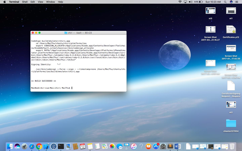 Sử dụng XCode build ứng dụng IONIC - Zakumi Blog