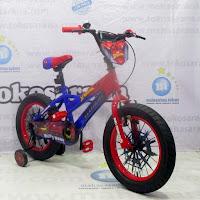 16 element spider-man bmx sepeda anak