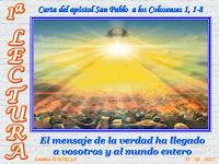 Resultado de imagen para Pablo, apóstol de Cristo Jesús por designio de Dios, y el hermano Timoteo,