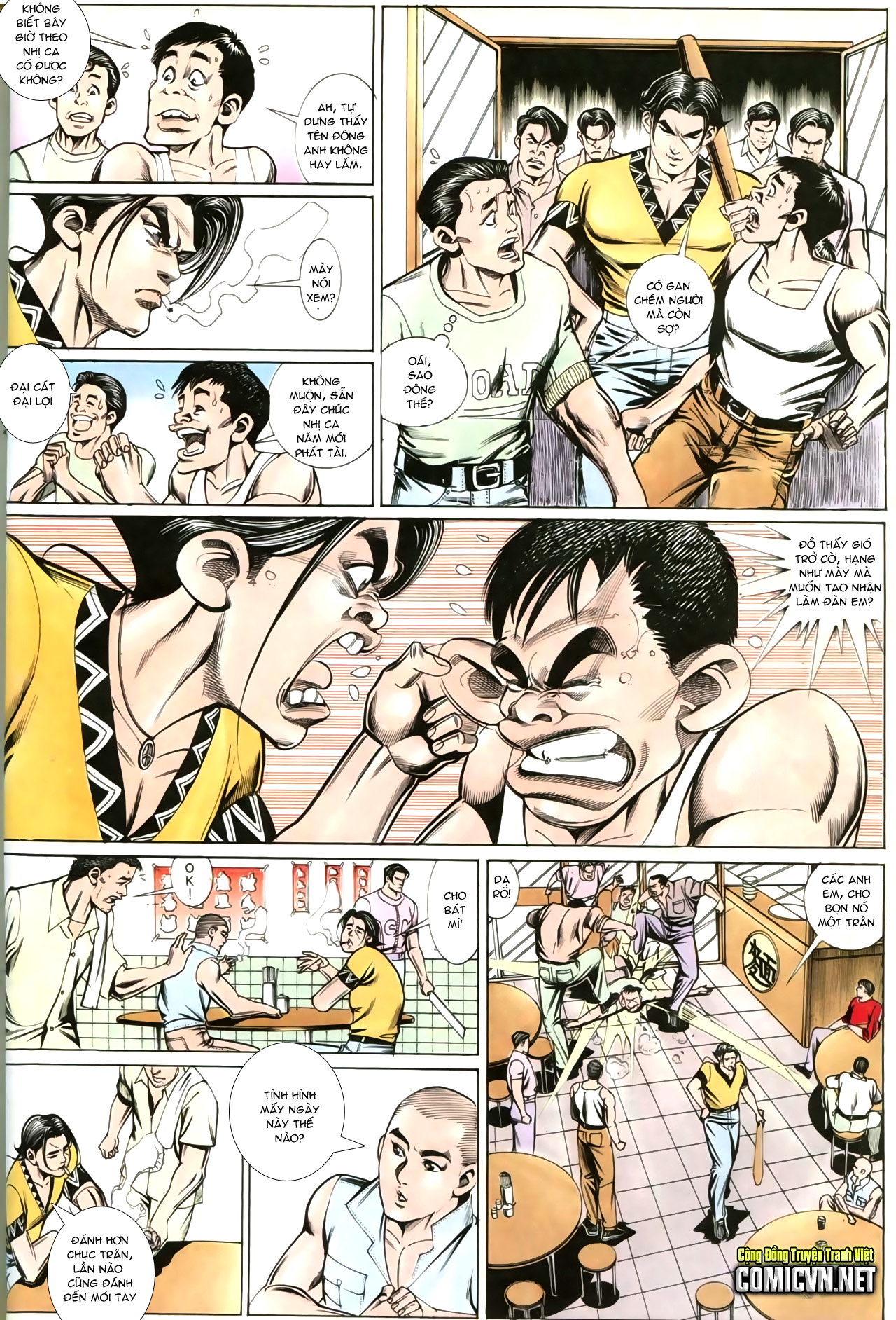 Người Trong Giang Hồ chapter 202: đối đầu trang 25