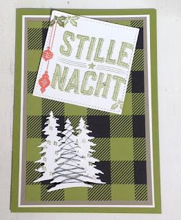 Erste Weihnachtskarte 2017