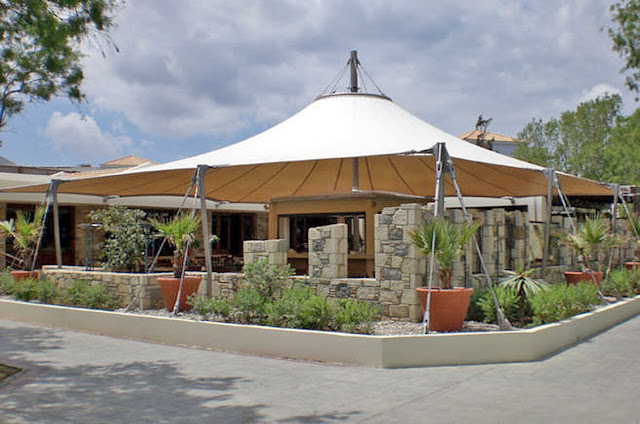 tenda membrane rumah ramah