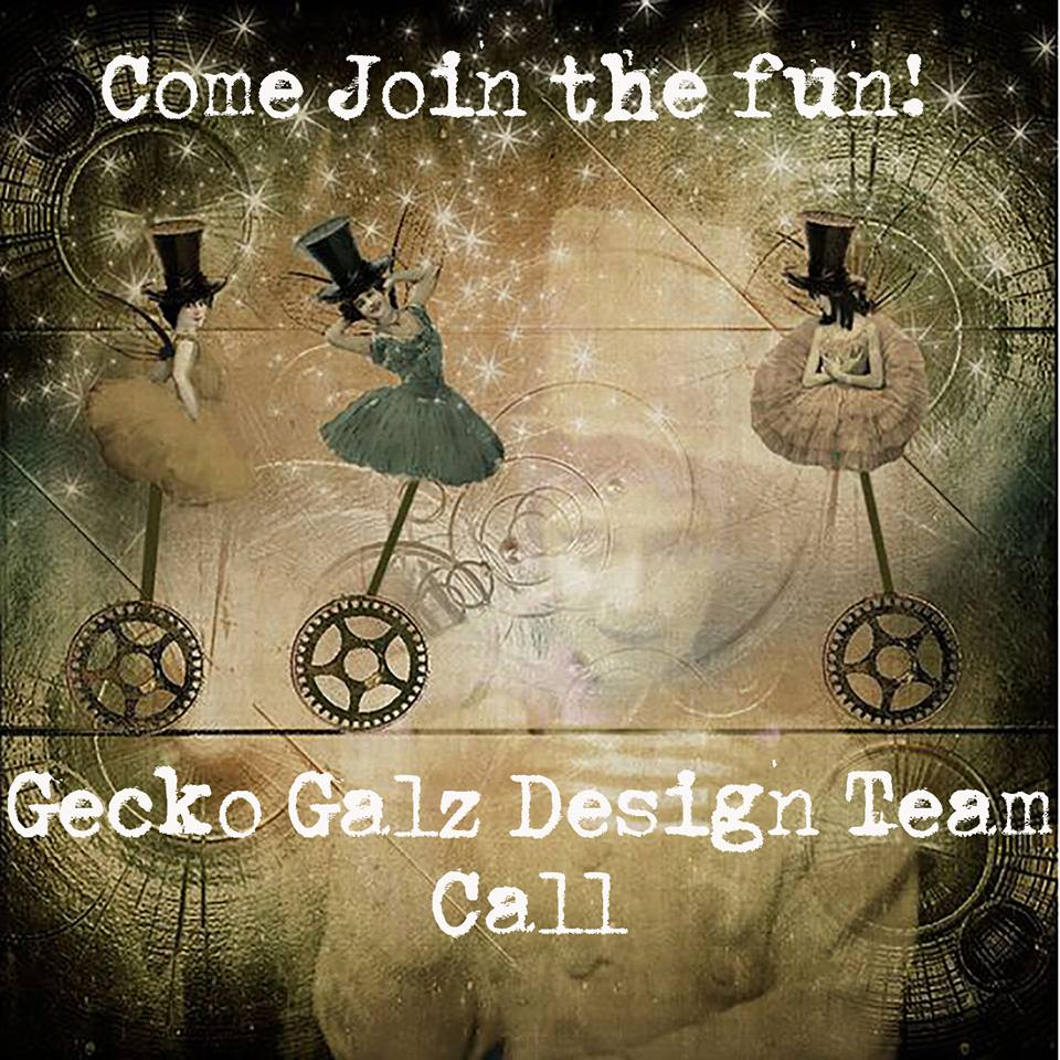 Design team call at Gecko Galz challenge blog