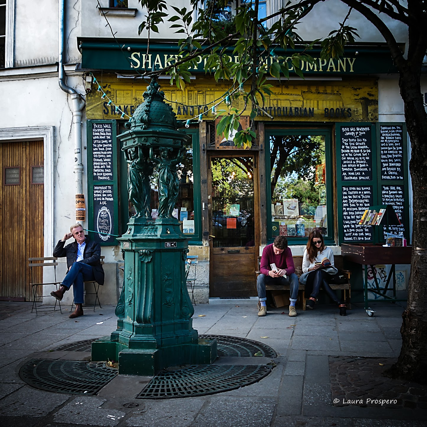Fontaine Wallace / Shakespeare and Company © Laura Prospero