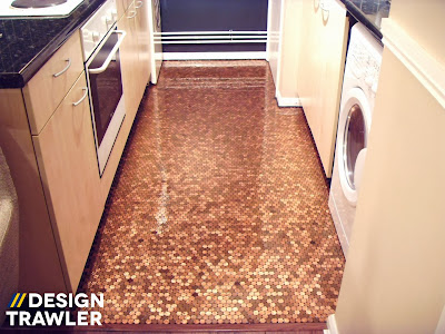 penny kitchen floor design trawler the floor that started a craze 1461