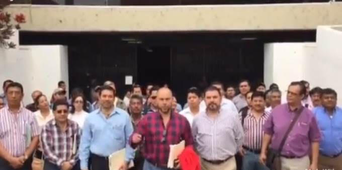 """VIDEO - """"QUEREMOS QUE NOS PAGUE"""" - EMPRESARIOS CHIAPANECOS"""