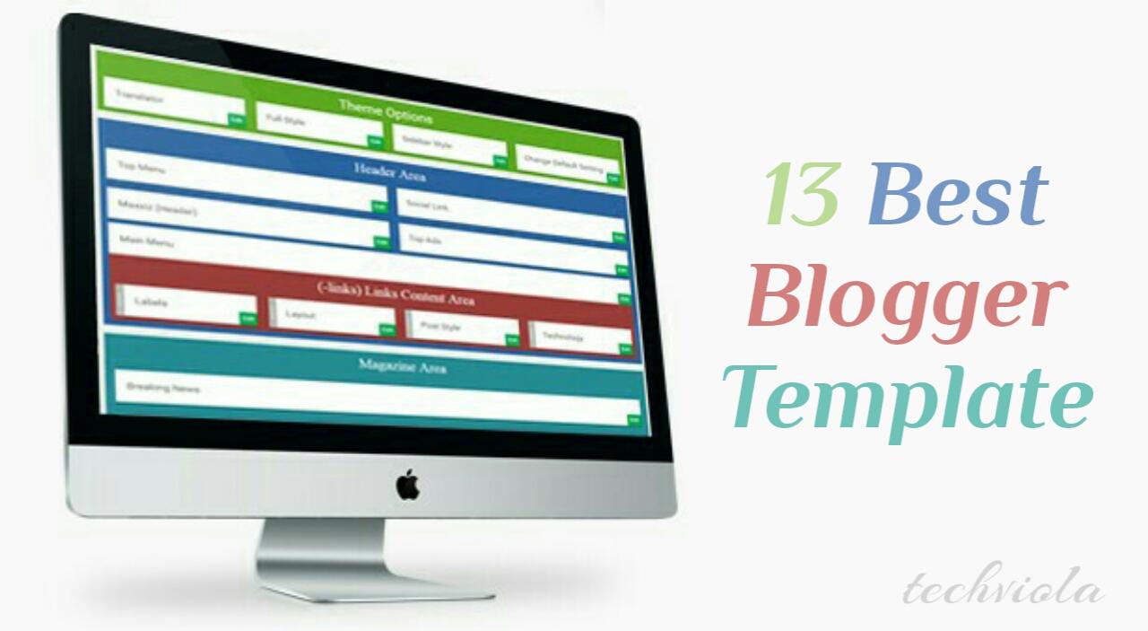 13 Best Responsive SEO Premium Blogger Template - Tech Viola