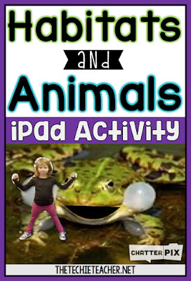 Habitats and Animals iPad Activity