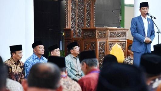 Demi Menangkan Jokowi, Pengurus Masjid Siap Door to Door