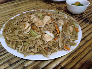 Pancit Canton at Marites Homestay and Restaurant in Pagudpud