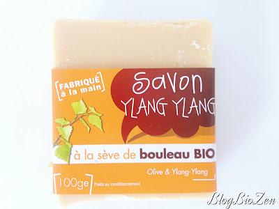Savon Ylang Ylang à la sève de bouleau bio - Végétal Water