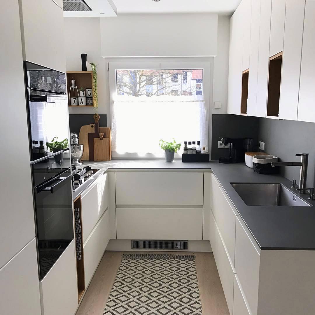 Desain Dapur Minimalis Ukuran 4x5 Furniturumah
