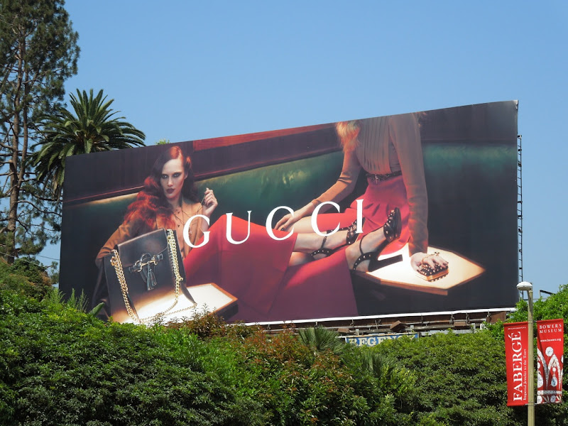 Gucci handbag 2012 billboard