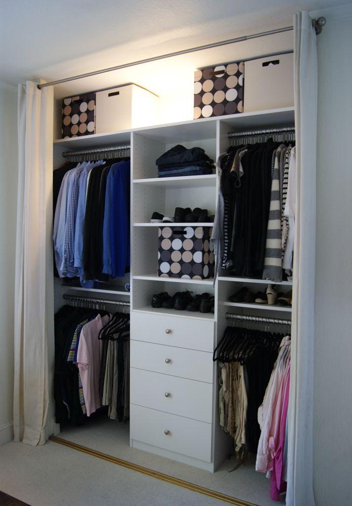 Custom Organized Master Closet
