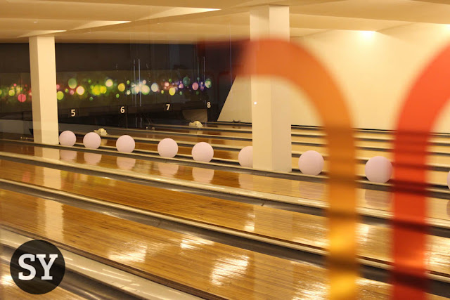 Bowling Alley inside Tempus Sports Lounge