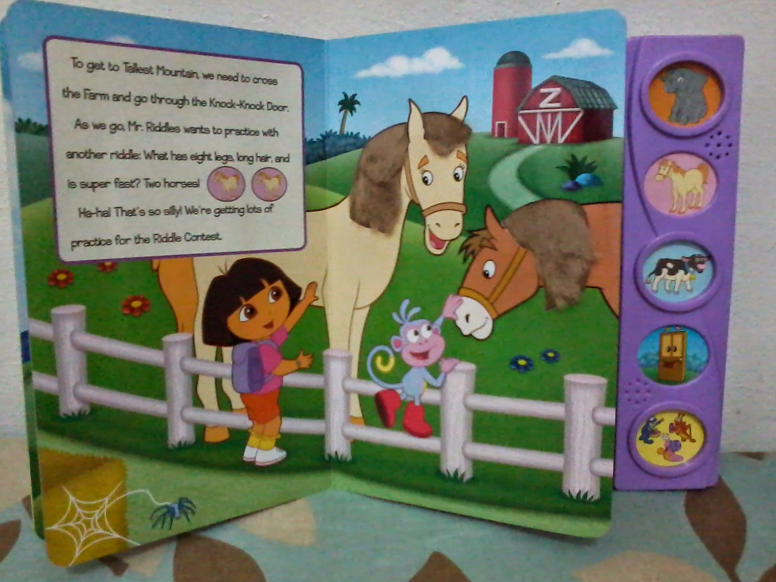 Play A Sound Dora The Explorer It S Riddle Time