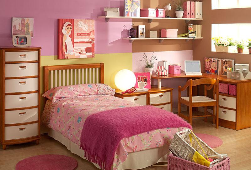 Ideas de habitaciones juveniles decoraci n con muebles de for Crear muebles juveniles