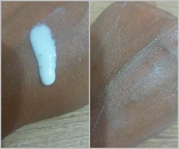 Fusion Water aplicado na pele