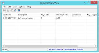 برنامج, مجانى, لاختبار, لوحة, المفاتيح, والماوس, وعرض, معلومات, عنهما, KeyboardStateView, اخر, اصدار