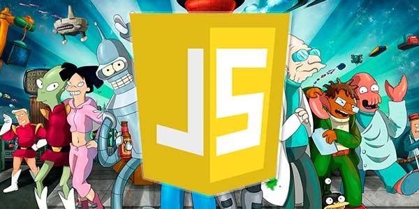 JavaScript - jogo de nave do futurama