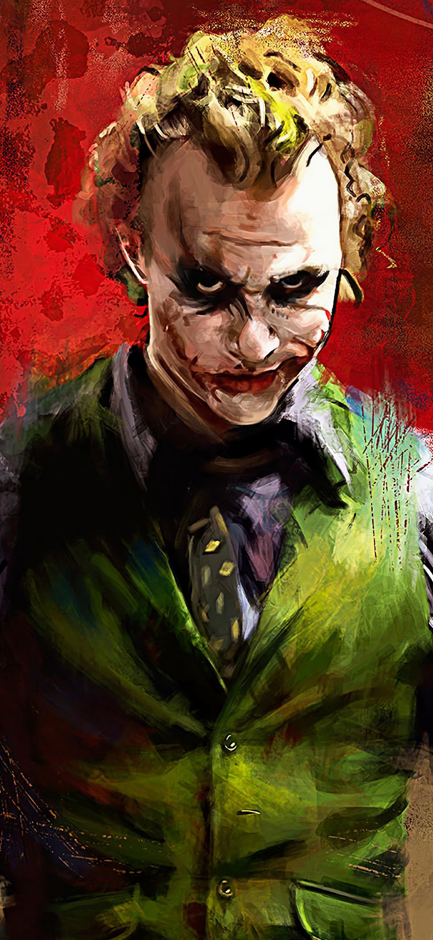 Joker Heath Ledger 4k Wallpaper 139