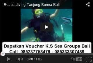 Scuba diving Bali tanjung Benoa