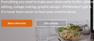 الدخول مباشرة بدون تسجيل بالضغط على edit a photo
