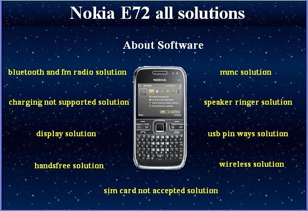 logiciel nokia n72