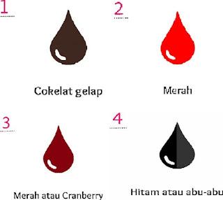 Warna darah Haid dan Maknanya