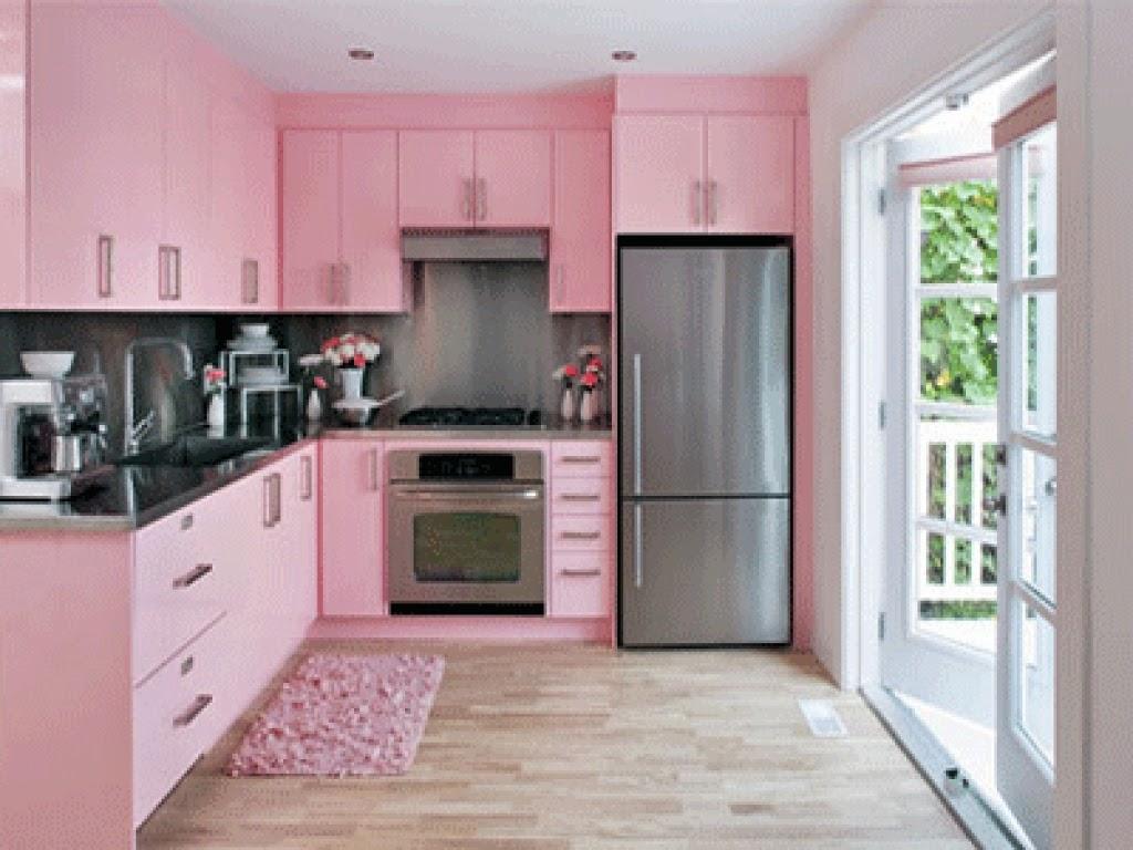 25 Gambar Meja Dapur Warna Pink Gambar Minimalis