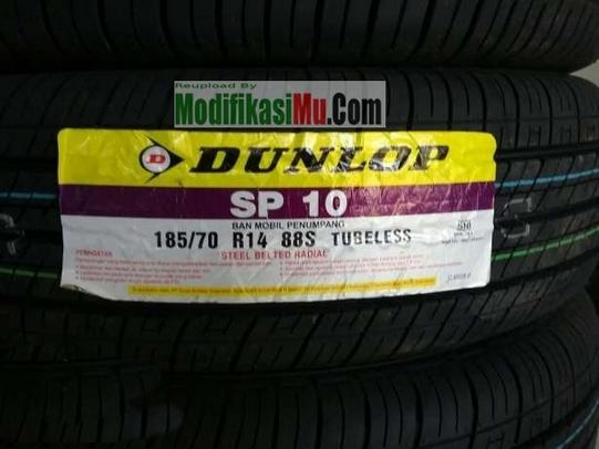 Ban Mobil Dunlop SP 10 TUbeless Ring 14 - Daftar Harga Ban Mobil Avanza Xenia Yang Bagus Awet dan Murah