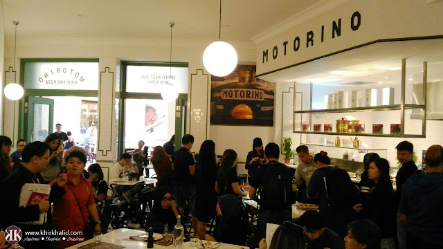 Motorina pizza, sky avenue resorts world genting,