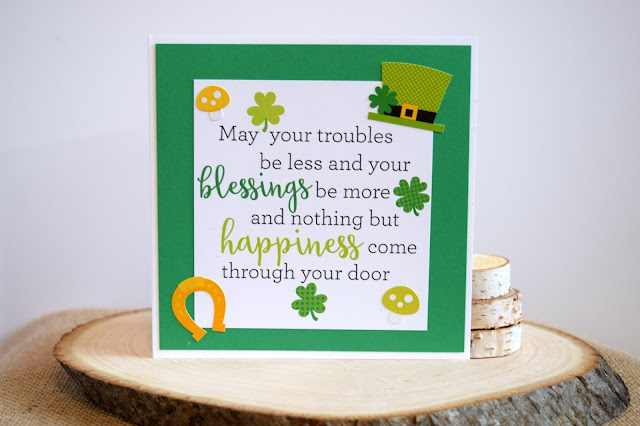 Card with Doodlebug Design Pot O Gold by Jess Crafts
