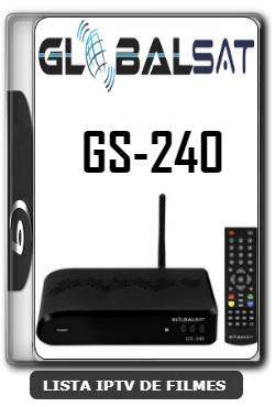 Globalsat GS240 Nova Atualização Melhorias no sistema V2.54 - 23-01-2020