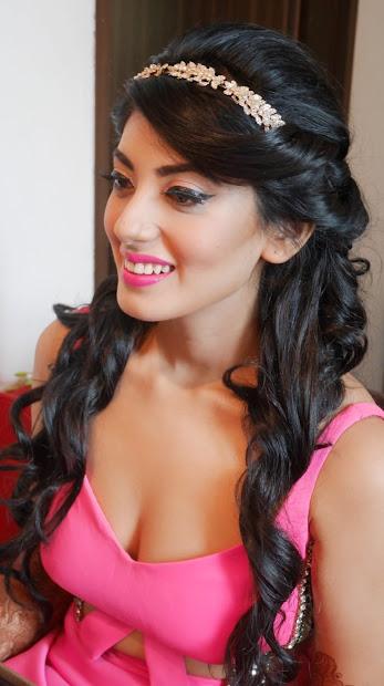 easy hairstyles mehndi