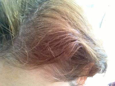 cheveux blancs 1 mois
