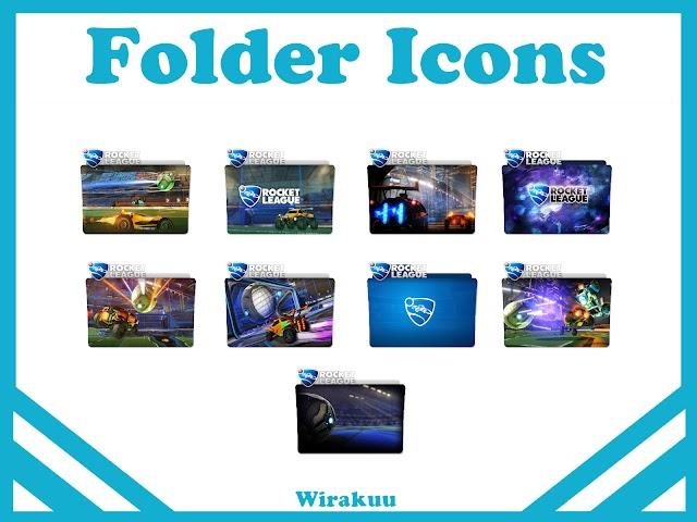 Free Download Folder Icons Game Rocket League