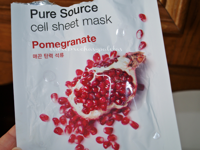 mascarilla missha pomegranate